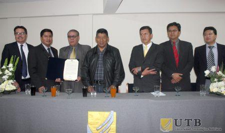 CÁMARA DE SENADORES ENTREGA RECONOCIMIENTO A LA UNIVERSIDAD TECNOLÓGICA BOLIVIANA
