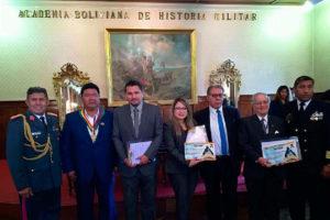 """AUTORIDADES Y DOCENTES DE LA UNIVERSIDAD TECNOLÓGICA BOLIVIANA RECIBIERON EL PREMIO GRAN MAESTRO EN GRADO """"ADELA ZAMUDIO"""""""