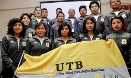 ESTUDIANTES DE LA UTB, PARTICIPARAN EN LOS XI JUEGOS SURAMERICANOS COCHABAMBA 2018